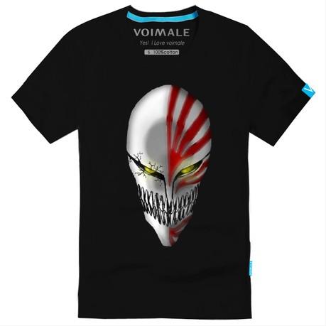 Bleach Kurosaki Ichigo Mask logo new style t shati