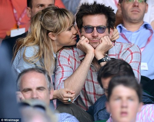 Bradley Cooper And His Girlfriend At Wimbledon