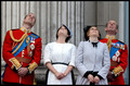British Royals at the Trooping the Colour