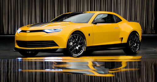 Bumblebee's NEW look in Transformers 4
