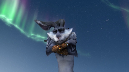 Rise of the Guardians wallpaper probably with a kitten titled Bunnymund HQ