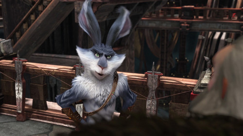 Rise of the Guardians Hintergrund probably with a kitten titled Bunnymund HQ