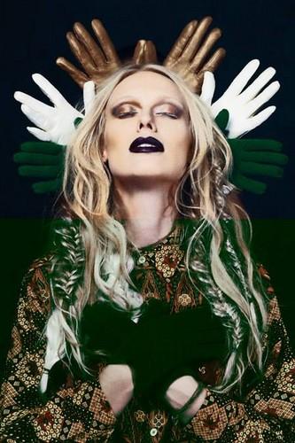 Antm winners 壁紙 called CariDee for Dark Beauty Magazine