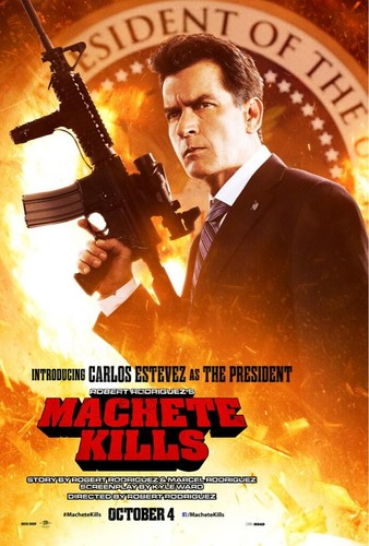 Carlos Estevez as The President
