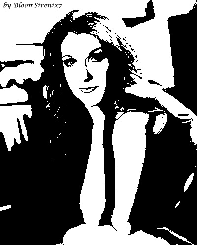 Celine Dion Drawing