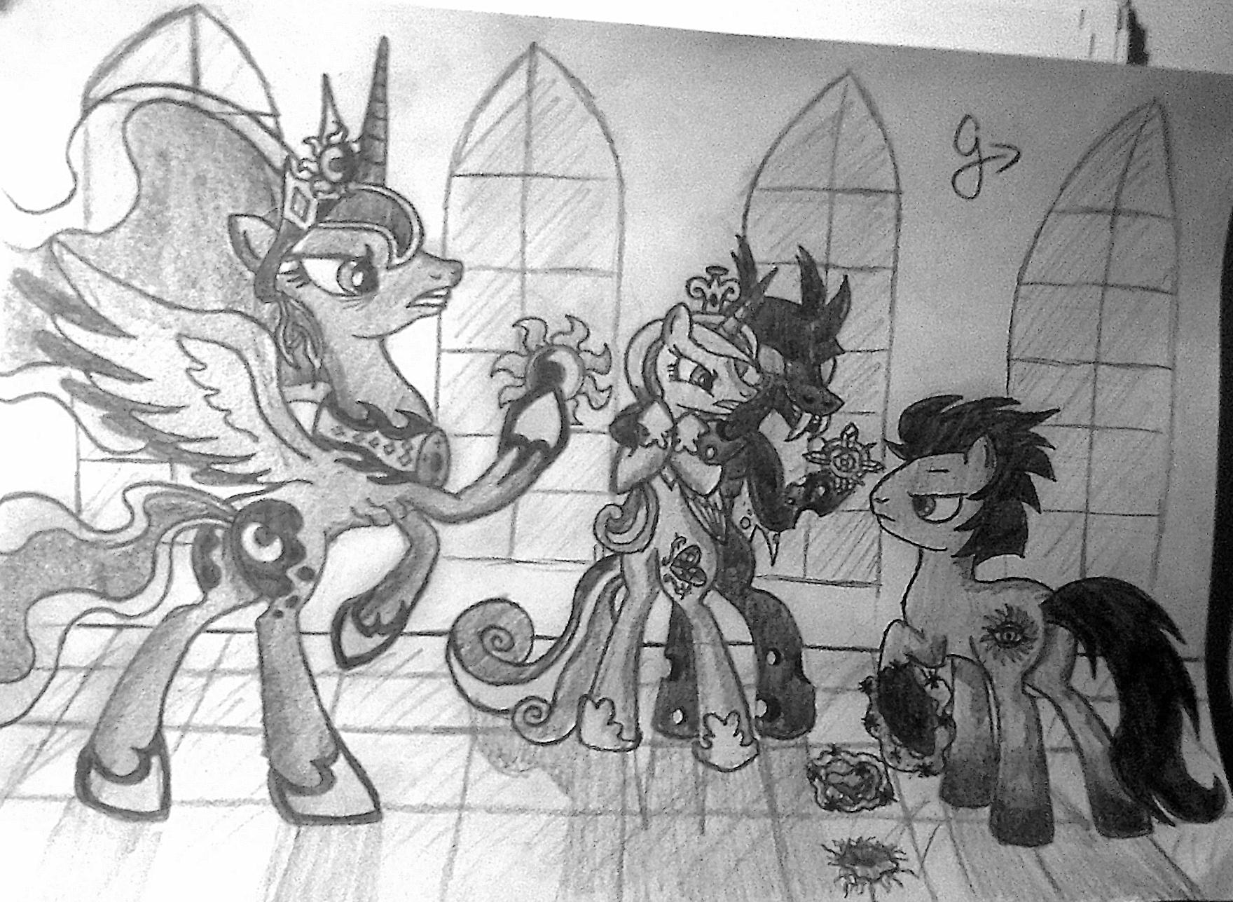 Changeling Attack My Little Pony Friendship Is Magic Fan