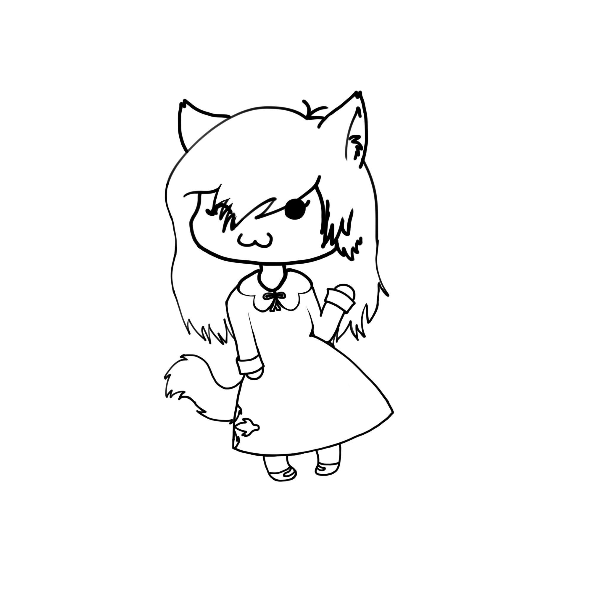 Chibi Autumnstar - Warrior Cats UCreate Fan Art (34937817 ...  Warrior Cat Chibi