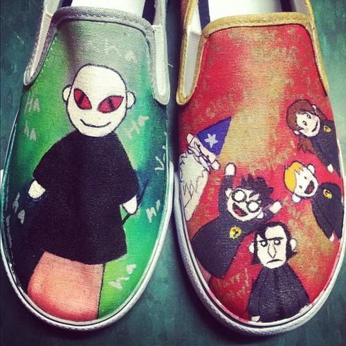 Cool shoes! :D