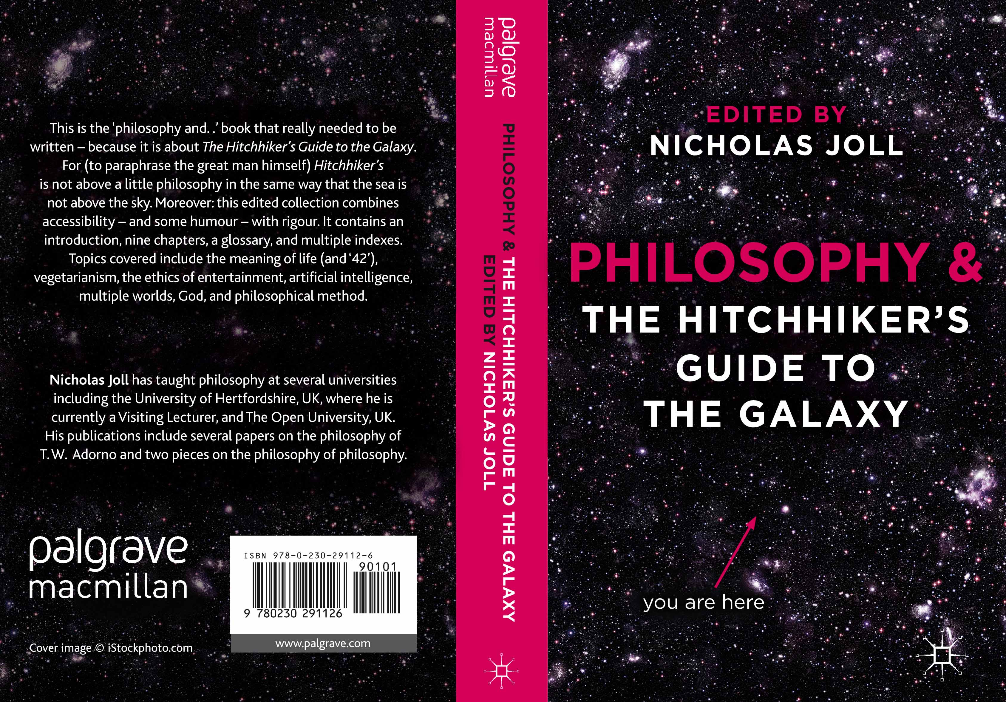 Cover of my Hitchhiker book
