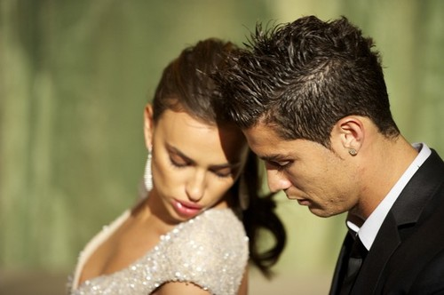 Cristiano and Irina
