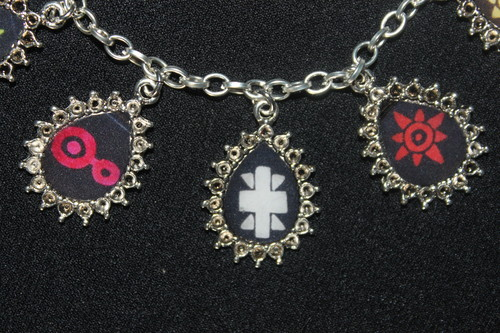 DIGIMON CRESTS charm bracelet