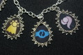 DIGIMON CRESTS charm bracelet - digimon fan art