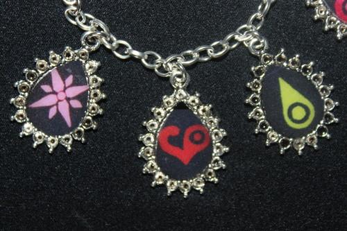 DIGIMON CRESTS charm bracelet