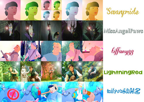 DP Characters 20 in 20 Icon Contest Round 2: Category set - Lens flare effect
