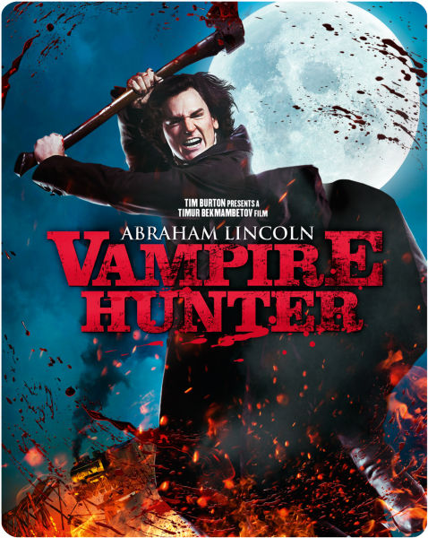 Abraham Lincoln Vampire Hunter Images Dvd Cover Art Wallpaper And