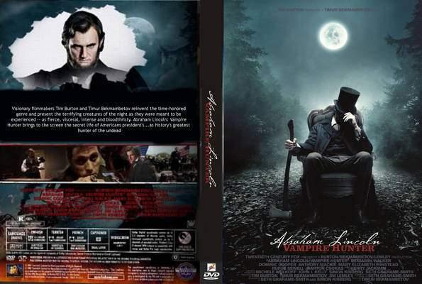 DVD Cover Art - Abraham Lincoln: Vampire Hunter Photo ...