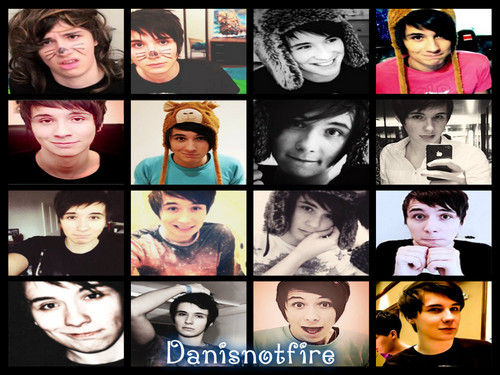 danisnotonfire wallpaper containing a stained glass window called Danisnotfire