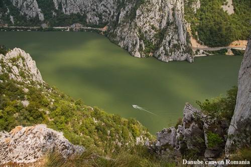 Danube canyon Romania beautiful Eastern europa