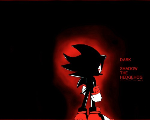 Dark Shadow The Hedgehog