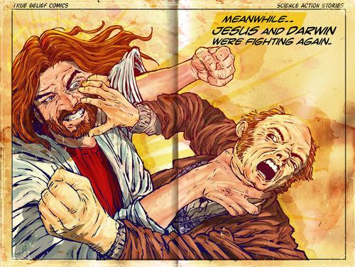 Darwin vs. येशु