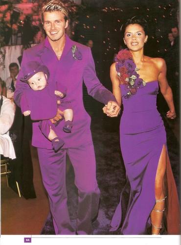 David and Victoria - Happy 14th Wedding Anniversary