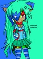 Dazelle the Hedgehog - sonic-girl-fan-characters fan art
