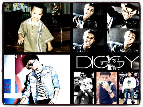 Diggy Simmons wallpaper probably with Anime called Diggy