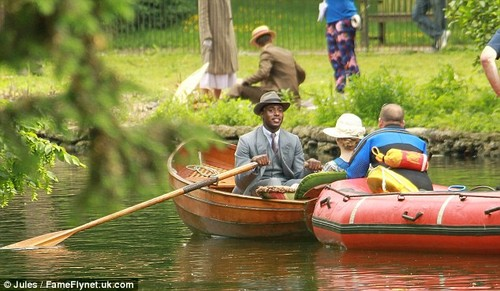 Downton Abbey Filmng Season 4