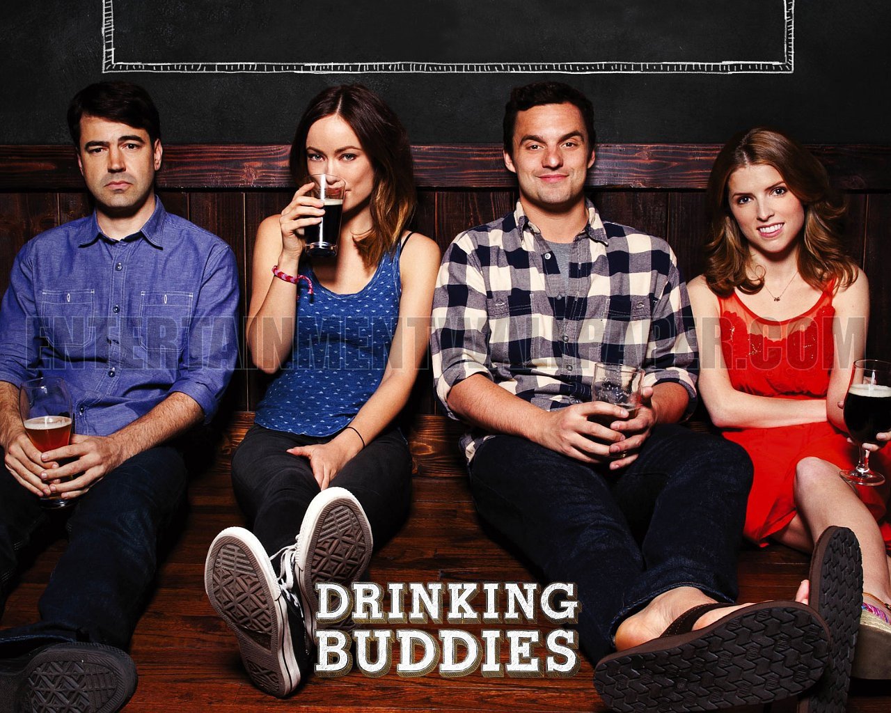 Movie Night: Drinking Buddies (romantic comedy) | The ...