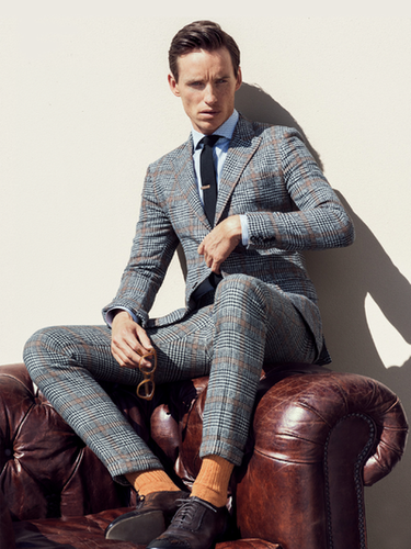 Eddie Redmayne によって Sebastian Kim for GQ