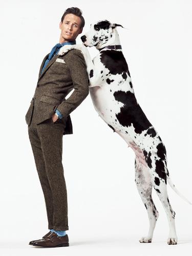 Eddie Redmayne by Sebastian Kim for GQ