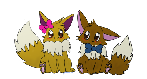 Eevee Couple