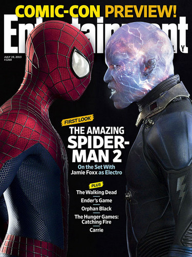 Entertainment Weekly Cover: The Amazing Spider-Man 2