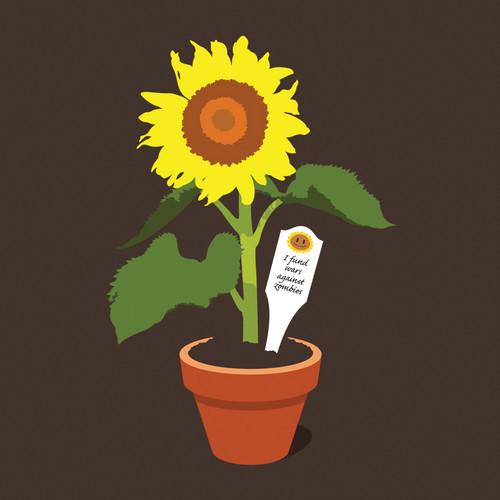 цветок POWER
