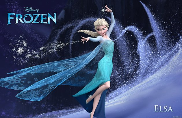 Disney Leading Ladies FROZEN 2013