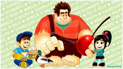 Felix, Ralph and Vanellope