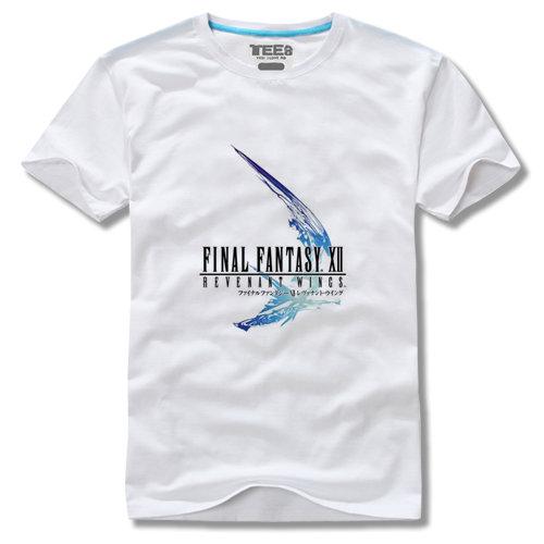 Final Fantasy Flying Eagle Logo Short Sleeve T Shirt Final