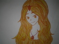 Flame Princess Drawing
