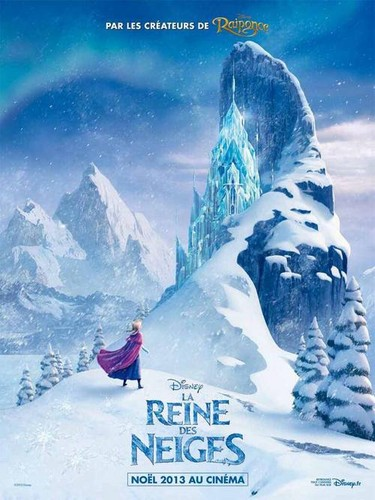 La Reine des Neiges French Poster