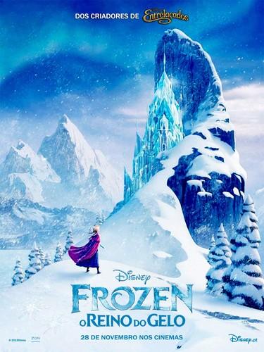 Frozen Portuguese Poster (Fan made)