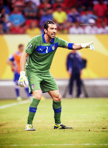 Gianluigi Buffon Italy 2013
