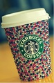 Glittery Starbucks!   - starbucks photo