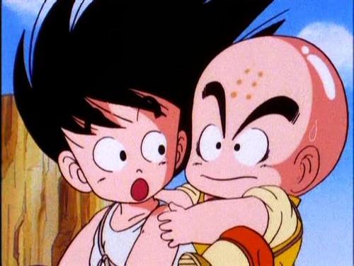 Goku & Krillin's friendship
