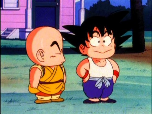 Гоку & Krillin's friendship