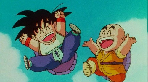 孫 悟空 & Krillin's friendship