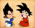 Goku lose his tail