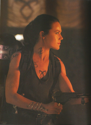 HQ Stills and BTS фото from the TMI Movie Companion [Scans]