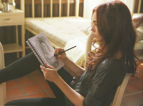 HQ Stills and BTS picha from the TMI Movie Companion [Scans]