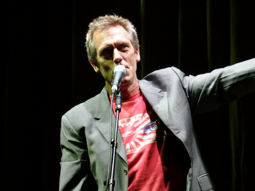 HUGH LAURIE AT Gran Rex Paris 09.07.2013
