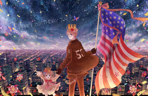Happy Birthday America~! <3